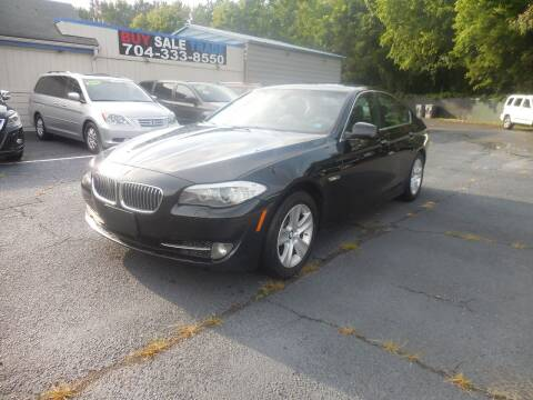 2013 BMW 5 Series for sale at Uptown Auto Sales in Charlotte NC