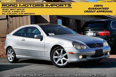 2002 Mercedes-Benz C-Class for sale at Road Motors Imports in El Cajon CA