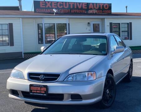 1999 Acura TL for sale at Executive Auto in Winchester VA