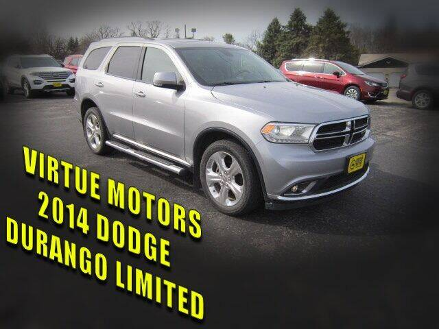 2014 Dodge Durango for sale at Virtue Motors in Darlington WI
