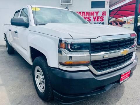 2017 Chevrolet Silverado 1500 for sale at Manny G Motors in San Antonio TX