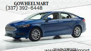 2017 Ford Fusion for sale at GOWHEELMART in Leesville LA