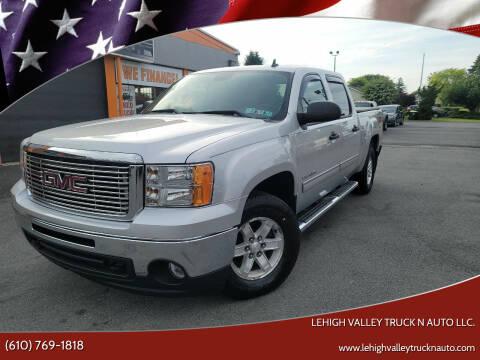 2011 GMC Sierra 1500 for sale at Lehigh Valley Truck n Auto LLC. in Schnecksville PA