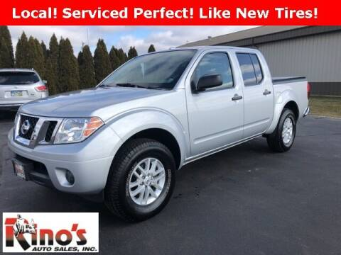2016 Nissan Frontier for sale at Rino's Auto Sales in Celina OH