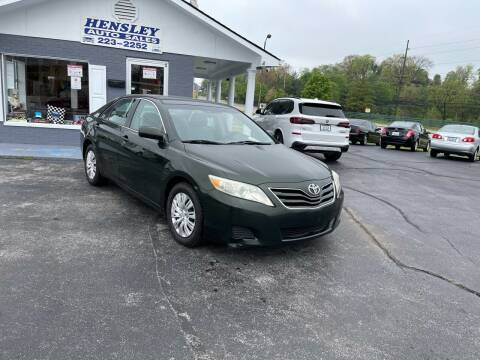 2010 Toyota Camry for sale at Willie Hensley in Frankfort KY