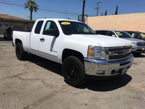 2012 Chevrolet Silverado 1500 for sale at JR'S AUTO SALES in Pacoima CA