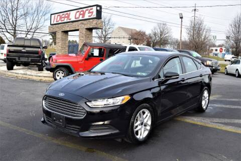 2016 Ford Fusion for sale at I-DEAL CARS in Camp Hill PA