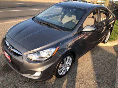 2012 Hyundai Accent for sale at STATE AUTO SALES in Lodi NJ