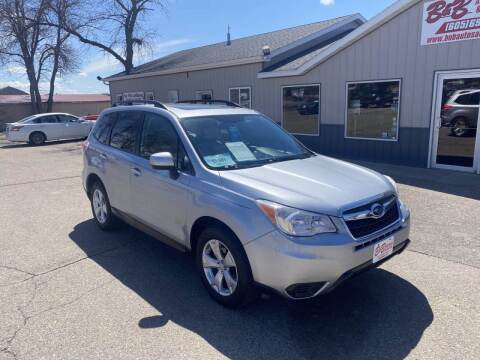 2015 Subaru Forester for sale at B & B Auto Sales in Brookings SD