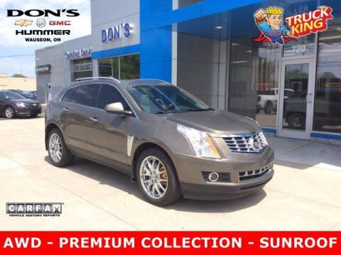 2014 Cadillac SRX for sale at DON'S CHEVY, BUICK-GMC & CADILLAC in Wauseon OH