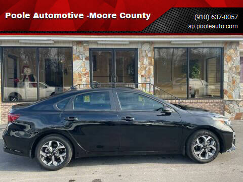 2020 Kia Forte for sale at Poole Automotive -Moore County in Aberdeen NC