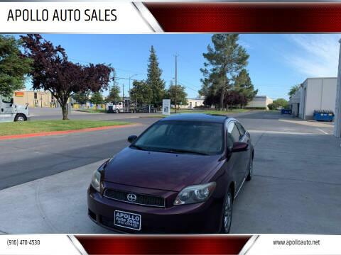 2007 Scion tC for sale at APOLLO AUTO SALES in Sacramento CA