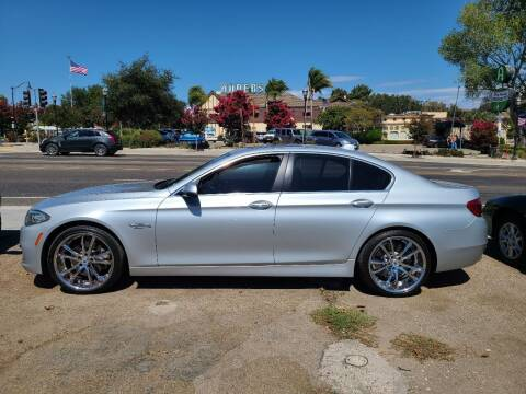2014 BMW 5 Series for sale at Coast Auto Sales in Buellton CA