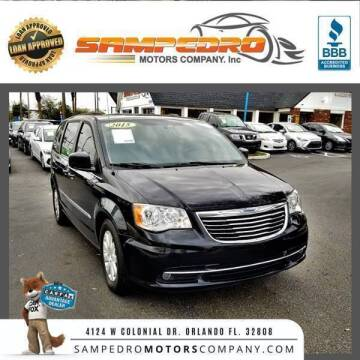 2015 Chrysler Town and Country for sale at SAMPEDRO MOTORS COMPANY INC in Orlando FL