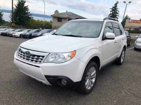 2012 Subaru Forester for sale at KARMA AUTO SALES in Federal Way WA