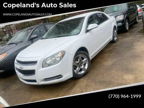 2010 Chevrolet Malibu for sale at Copeland's Auto Sales in Union City GA