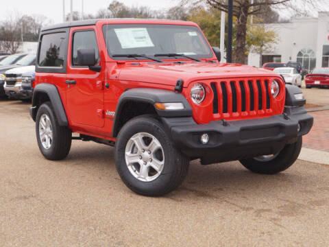 2019 Jeep Wrangler for sale at BLACKBURN MOTOR CO in Vicksburg MS