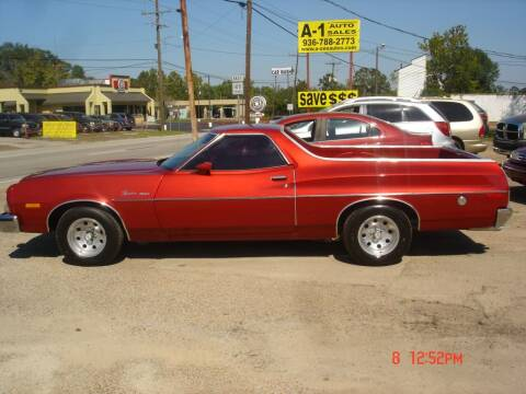 1973 Ford Ranchero for sale at A-1 Auto Sales in Conroe TX