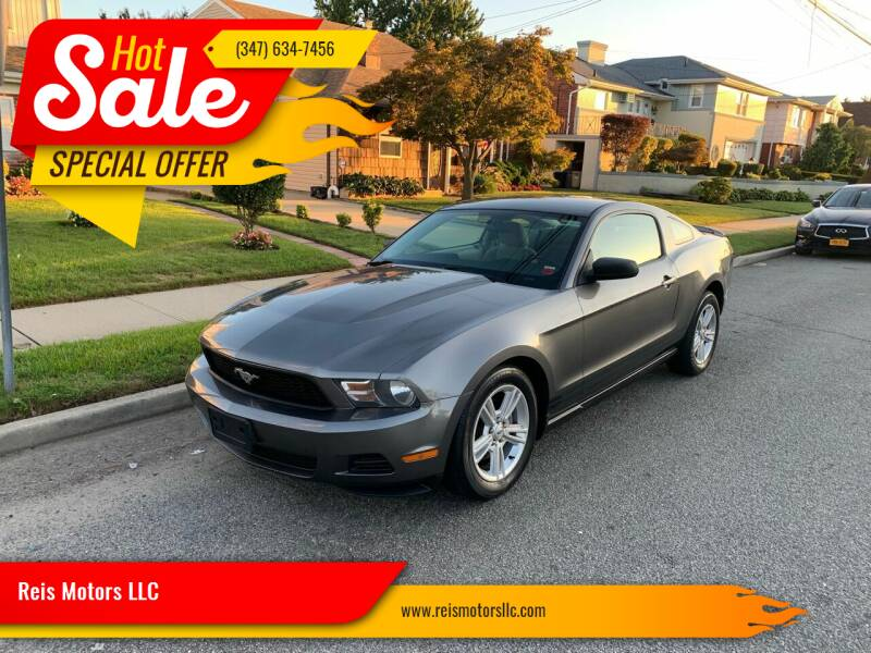 2010 Ford Mustang for sale at Reis Motors LLC in Lawrence NY