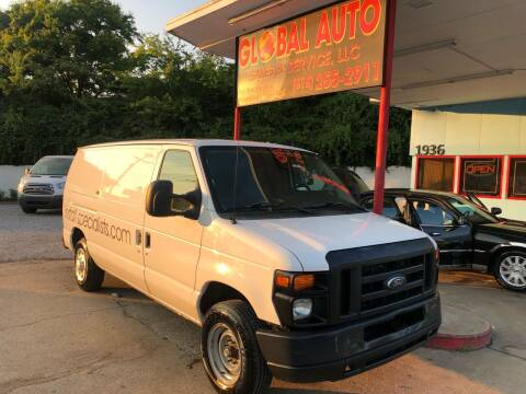 2012 Ford E-Series Cargo for sale at Global Auto Sales and Service in Nashville TN