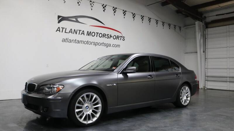 2008 BMW 7 Series for sale at Atlanta Motorsports in Roswell GA