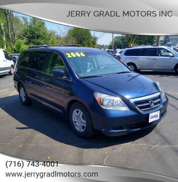 2006 Honda Odyssey for sale at JERRY GRADL MOTORS INC in North Tonawanda NY