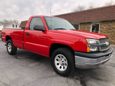2005 Chevrolet Silverado 1500 for sale at Approved Motors in Dillonvale OH