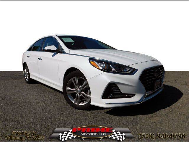 2018 Hyundai Sonata for sale at PRIME MOTORS LLC in Arlington VA