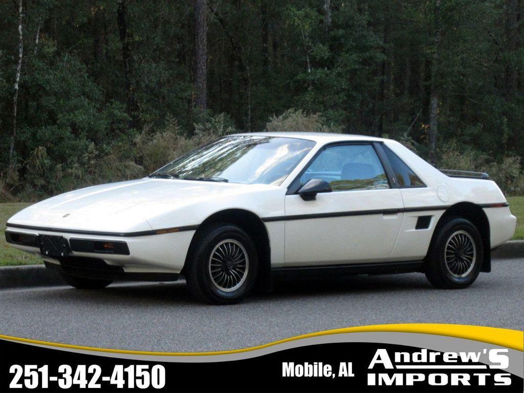 Used 1984 Pontiac Fiero For Sale Carsforsale Com