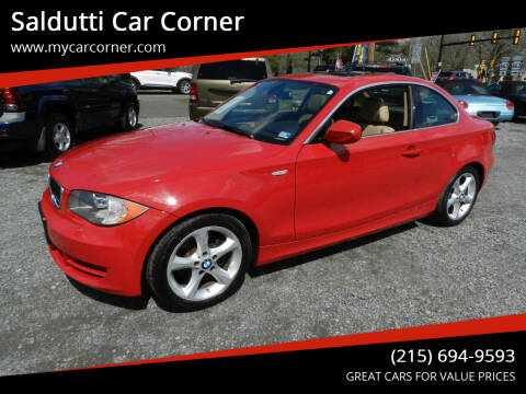 2011 BMW 1 Series for sale at Saldutti Car Corner in Gilbertsville PA