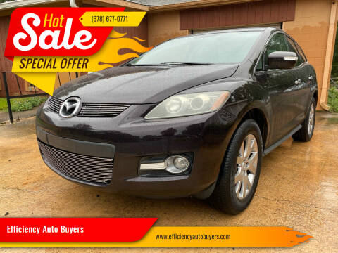 2009 Mazda CX-7 for sale at Efficiency Auto Buyers in Milton GA