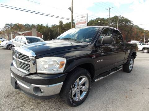 2008 Dodge Ram Pickup 1500 for sale at Deer Park Auto Sales Corp in Newport News VA