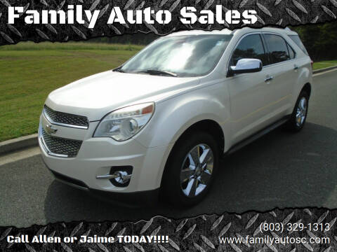 2012 Chevrolet Equinox for sale at Family Auto Sales in Rock Hill SC