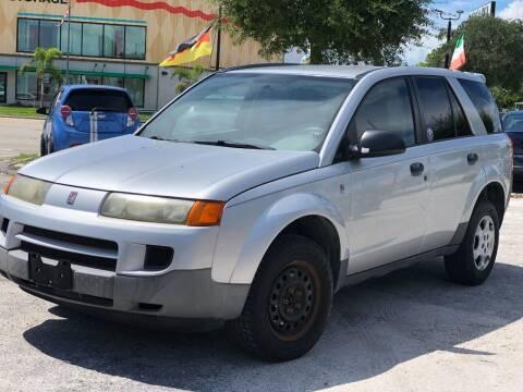 2003 Saturn Vue for sale at Pro Cars Of Sarasota Inc in Sarasota FL