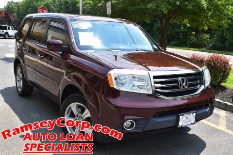 2013 Honda Pilot for sale at Ramsey Corp. in West Milford NJ