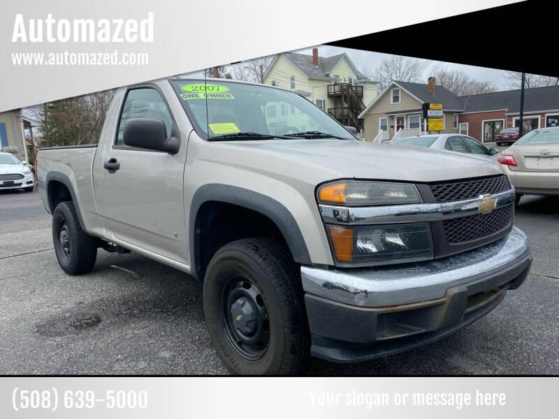 2007 Chevrolet Colorado for sale at Automazed in Attleboro MA