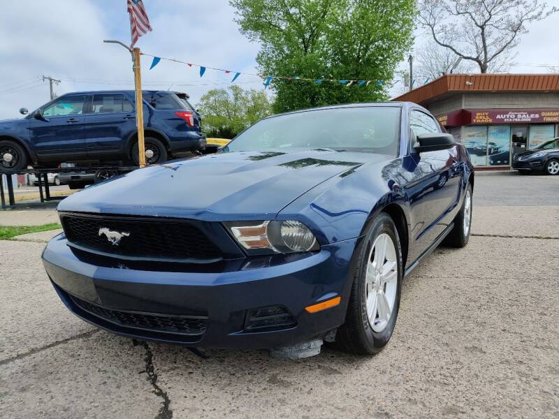 2012 Ford Mustang for sale at Lamarina Auto Sales in Dearborn Heights MI