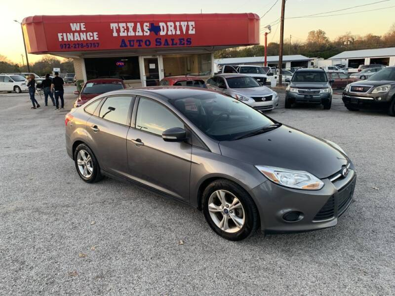 2013 Ford Focus for sale at Texas Drive LLC in Garland TX