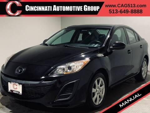 2010 Mazda MAZDA3 for sale at Cincinnati Automotive Group in Lebanon OH