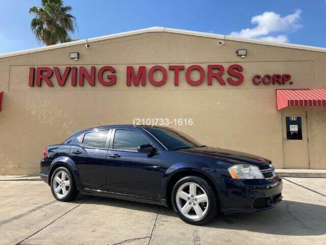 2011 Dodge Avenger for sale at Irving Motors Corp in San Antonio TX