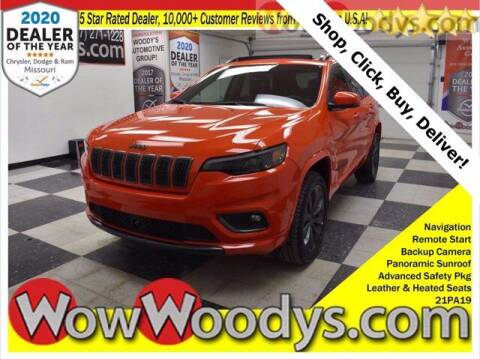 2021 Jeep Cherokee for sale at WOODY'S AUTOMOTIVE GROUP in Chillicothe MO