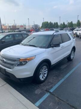 2014 Ford Explorer for sale at COYLE GM - COYLE NISSAN - New Inventory in Clarksville IN