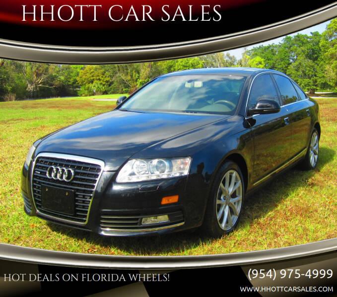 2009 Audi A6 for sale at HHOTT CAR SALES in Deerfield Beach FL
