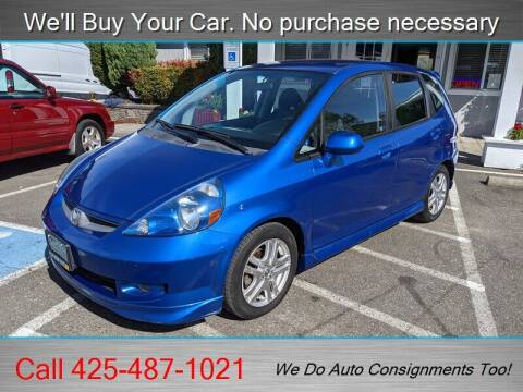 2007 Honda Fit for sale at Platinum Autos in Woodinville WA