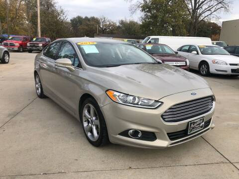 2015 Ford Fusion for sale at Zacatecas Motors Corp in Des Moines IA