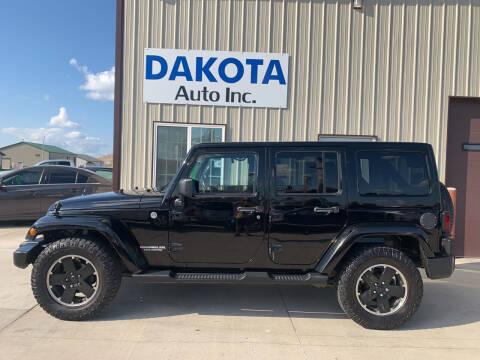 2012 Jeep Wrangler Unlimited for sale at Dakota Auto Inc. in Dakota City NE