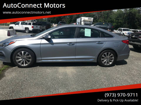 2015 Hyundai Sonata for sale at AutoConnect Motors in Kenvil NJ