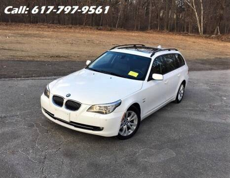 2009 BMW 5 Series for sale at Wheeler Dealer Inc. in Acton MA