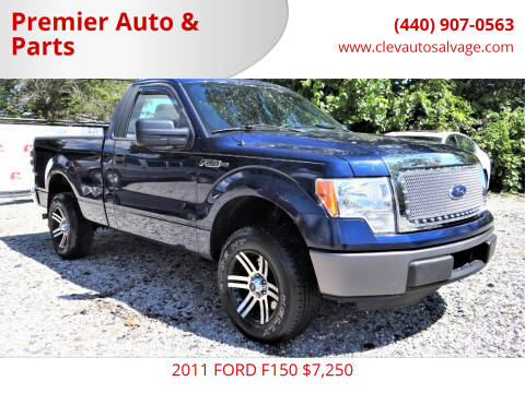 2011 Ford F-150 for sale at Premier Auto & Parts in Elyria OH