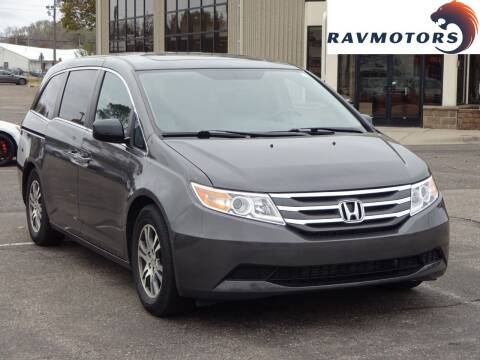 2012 Honda Odyssey for sale at RAVMOTORS 2 in Crystal MN